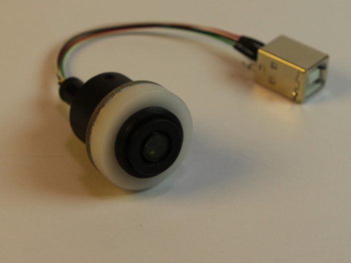 Positioned Head Cam with LED